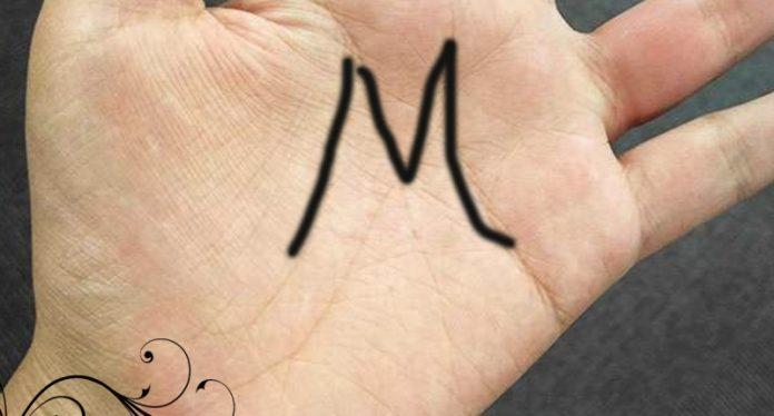 手上有「M字型」掌紋的人,這一生非富即貴!!快看看你有沒有…